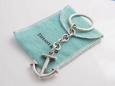 Tiffany & Co RARE Vintage Anchor Keychain Key Chain Key Ring!