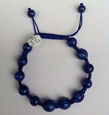 Shamballa / Chamballa Bracelet With Blue Lapis