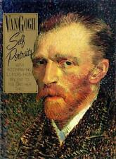 VAN GOGH ~ SELF PORTRAITS ~ INCL LETTERS TO BROTHER THEO ~ PROFUSELY ILLUS HURT
