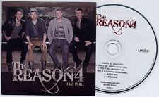 REASON 4 Take It All UK 6-trk promo CD Uniting Nations