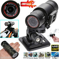 1080P HD Mini Waterproof Sport Camera DV Bike Helmet Action DVR Video Cam Camera