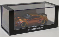 1/64 LB Works Nissan GT-R R35 Ducktail Chameleon Gold Liberty Walk