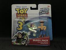 Toy Story 3 Buddy Pack Buzz And Woody Disney Pixar Juguete Figuras De Acción Mattel