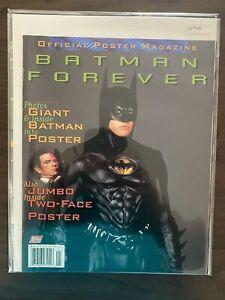 Batman Forever Official Poster Magazine High Grade Topps Comic  CL77-45