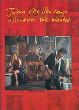 "JOHN MELLENCAMP ""WHENEVER WE WANTED "" P/V/G MUSIC BK COLLECTORS ITEM ON SALE"