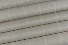 1.30m Laura Ashley  'Elmore Check' in Silver Upholstery Fabric