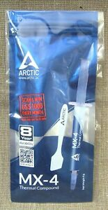 Arctic MX-4 Thermal Compound Heatsink Paste w/Spatula 4 Grams w/8 Yr. Durability