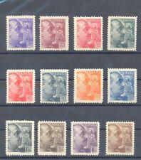 1939 GENERAL FRANCO SANCHEZ TODA EDIFIL 867/78 ** MNH CIVIL WAR          TC10087