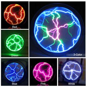 1pcs Pocket Plasma Disk Plate Ball Lighting Sensor Plasmakugel Lichteffekt Party