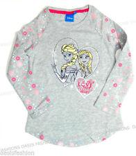 Vêtements gris Disney à manches longues pour fille de 2 à 16 ans