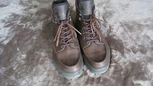 Men's ECCO Track II Gore-Tex Ankle Boots Brown size EU 47 (US 13-13.5)