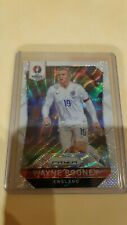 Panini 2016 Euro France Wayne Rooney England Base White PRIZM RARE!!!
