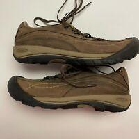 KEEN Brown Nubuck Toyah Lace Up Hiking Shoes - Women's 11 - 1007732 TXS 1212