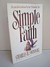 Simple Faith Study Guide by Charles R. Swindoll