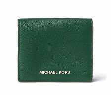 New MICHAEL Michael Kors Mercer Carryall Card Case MOSS Credit card Wallet