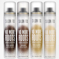 2x Salon Fix No More Roots & Greys Temporary Cover Up Spray - 2x 75ml