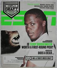 ESPN Magazine - May 12, 2014 The NFL Draft Back Issue Used Teddy Bridgewater
