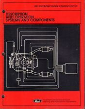 1981 Electronic Engine Controls Description and Operation Ford Man. 061517nonDBE