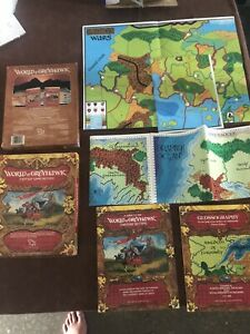 World of Greyhawk box set full with Greyhawk Wars map