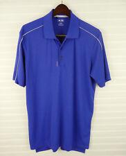 adidasgolf adizero Clima Cool Golf Polo Shirt Mens L Purple Short Sleeve