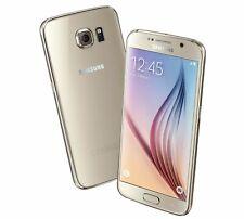Samsung Galaxy S6 G920A 128GB Gold (GSM Unlocked) Smartphone