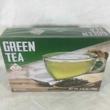 Pure Green Tea Greenbrier-International 100 Tea Bags Per Box Flu Quarantine