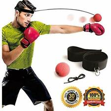 """Boxing Reflex Ball, Equipment With Headband, 2 Training Speed Levels, Great On """""""