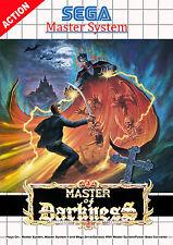 Master of Darkness SEGA Master System Framed Print (Man Cave Picture Poster Art)