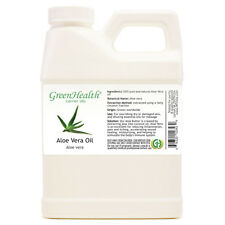 16 fl oz Aloe Vera Carrier Oil (100% Pure & Natural) Plastic Jug