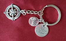 BEST FRIENDS Keyring Promise Charm Sign Language Key Chain Mother Daughter  ❤