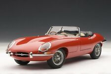 1:18 Autoart JAGUAR E-Type Roadster Series i 3.8 Red #73601 NUOVO NEW