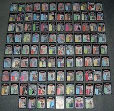 Vintage Star Wars 104 x LOT,SET,MINI BACKING CARDS,CARDBACKS,FIGURE DISPLAY SIZE