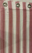 JCP Home Expressions Grommet Pair Of Panels Pink & White Stripe 50W x 84L Each