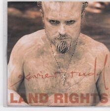 Xavier Rudd-Land Rights promo cd single