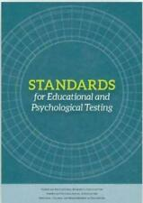 Standards for Educational and Psychological Testing by American Psychological...