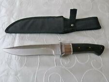 Bowie Messer Boda mit Gürteltasche f. Camping Jagd Angeln Outdoor aus Sammlung 8