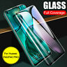 For Huawei P40 Pro Lite 4D Full Coverage Tempered Glass Screen Protector Film UA