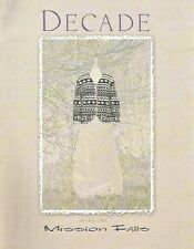 Mission Falls Decade Knitting Pattern Instruction Book Womens Sweaters Scarf NEW