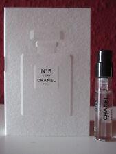 🌹 CHANEL ~ N°5 L`EAU ~ Eau de Toil. Parfum Probe für SIE NEU/OVP