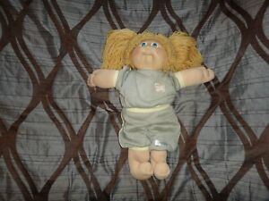 CABBAGE PATCH KID BONDE HAIR BLUE EYES SWEAT/TRACK EXERCISE 1985 WORKOUT SUIT