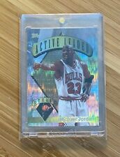 1995-96 Topps Mystery Finest Power Boosters Michael Jordan #4 Active Leader