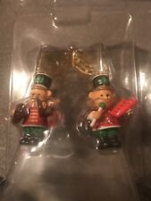 CARLTON CHRISTMAS ORNAMENT: BEARS ON PARADE MARCHING BAND BEARS new in box