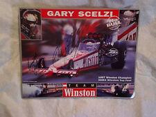 1997 GARY SCELZI SIGNED GLOSSY PHOTO,Autograph,NHRA Winston Champion,drag racing