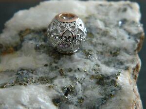 Clogau Silver /& 9ct Rose Gold White Topaz Birth Stone Bead Charm RRP £169.00