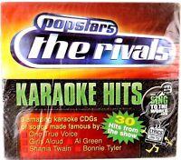brand new sing to the world, popstars the rivals, 3 cdg's 30 karaoke tracks