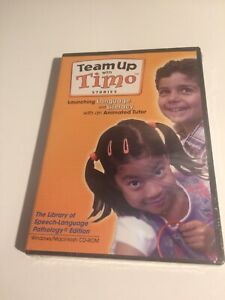 Team Up With Timo Stories CD-ROM! Launching Language and Literacy