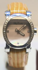 Faconnable Automatic Pink Mother Pearl Diamond Bezel Watch