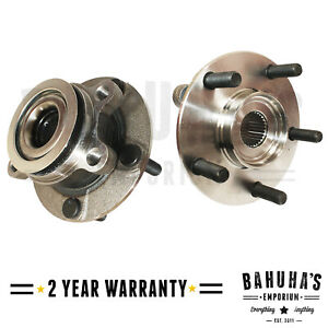For Nissan Juke Leaf 1.2 1.5 1.6 electric 2010-on 2 Front Hub Wheel Bearing Pair