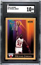 1990-1991 Skybox Michael Jordan #41 SGC 10 Gem Mint (PSA 10 Crossover?) Low Pop
