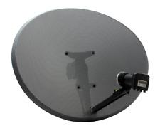 *NEW* Zone 2 Dish & Quad LNB HD Freesat PVR Plus Hotbird Polsat 80cm